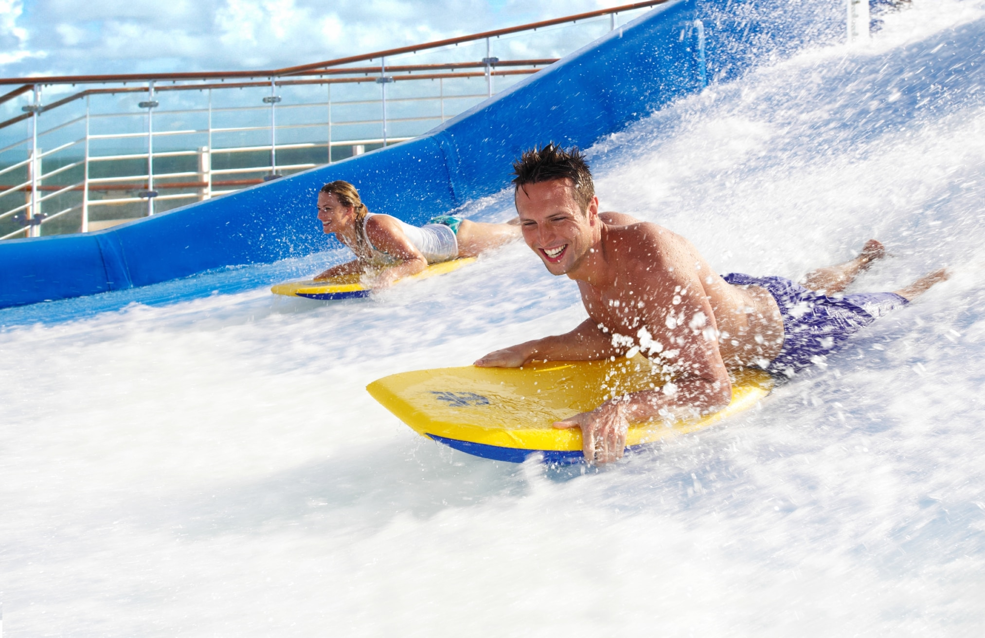 Oasis of the seas et son flowrider