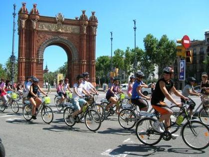 Découvrir Barcelone à Vélo, en croisière