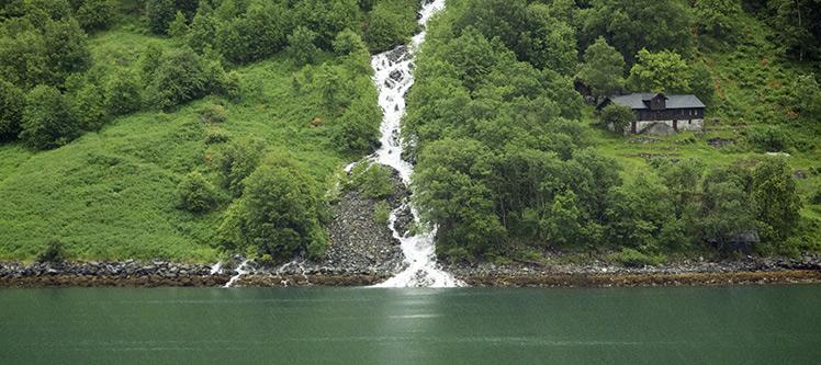Croisiere au fjord Geiranger en Norvège