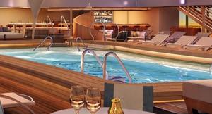 Patio bar avec piscine sur le seaboard Encore