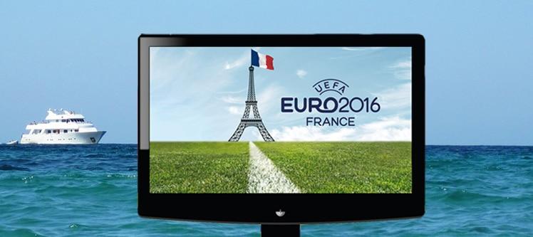 Euro 2016 en croisiere