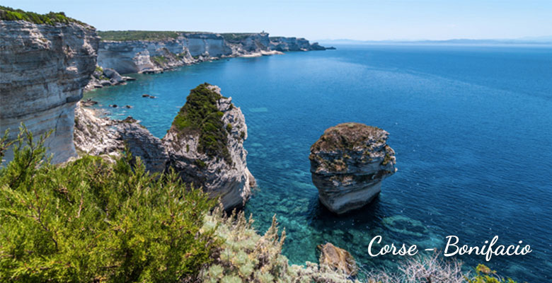 Croisière France en Corse escale à Bonifacio