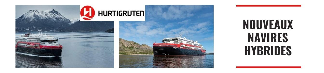 les nouveaux navires hybrides hurtigruten