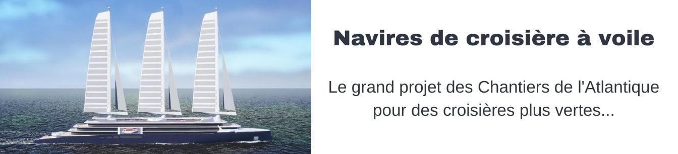 navires de croisieres a voile