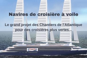 navires de croisiere a voile