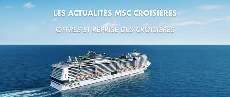 Les actualités MSC Croisières